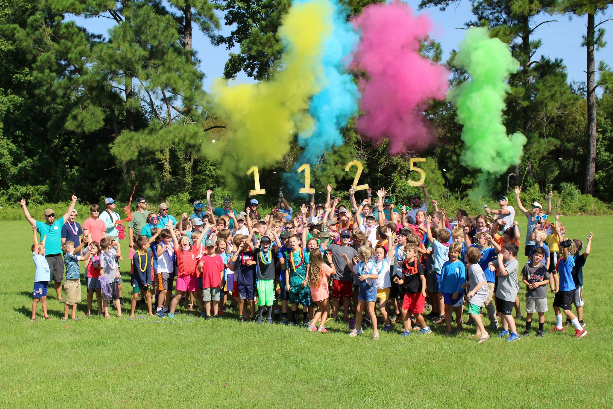 Camp Woodie breaks ground and attendance record